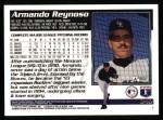 1995 Topps #349  Armando Reynoso  Back Thumbnail