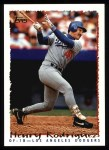 1995 Topps #400  Henry Rodriguez  Front Thumbnail