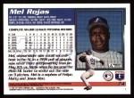 1995 Topps #74  Mel Rojas  Back Thumbnail