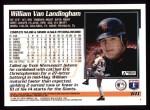 1995 Topps #611  William VanLandingham  Back Thumbnail
