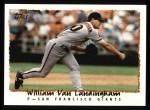 1995 Topps #611  William VanLandingham  Front Thumbnail