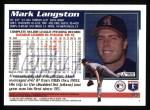 1995 Topps #95  Mark Langston  Back Thumbnail