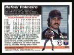 1995 Topps #80  Rafael Palmeiro  Back Thumbnail