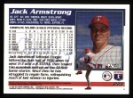 1995 Topps #222  Jack Armstrong  Back Thumbnail