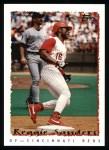 1995 Topps #411  Reggie Sanders  Front Thumbnail
