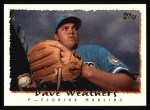 1995 Topps #73  Dave Weathers  Front Thumbnail