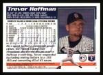 1995 Topps #7  Trevor Hoffman  Back Thumbnail