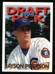 1995 Topps #437  Jayson Peterson  Front Thumbnail