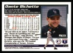 1995 Topps #140  Dante Bichette  Back Thumbnail