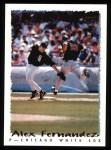 1995 Topps #163  Alex Fernandez  Front Thumbnail