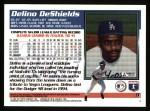 1995 Topps #9  Delino DeShields  Back Thumbnail