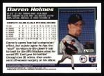 1995 Topps #26  Darren Holmes  Back Thumbnail