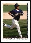 1995 Topps #496  Troy O'Leary  Front Thumbnail