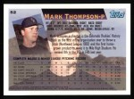 1995 Topps #52  Mark Thompson  Back Thumbnail