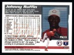 1995 Topps #270  Johnny Ruffin  Back Thumbnail