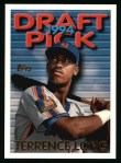 1995 Topps #112  Terrence Long  Front Thumbnail