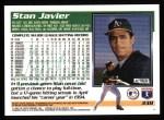 1995 Topps #338  Stan Javier  Back Thumbnail