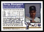1995 Topps #87  Terry Shumpert  Back Thumbnail