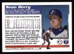 1995 Topps #530  Sean Berry  Back Thumbnail