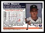 1995 Topps #576  Mike Moore  Back Thumbnail