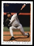 1995 Topps #410  Pedro A. Martinez  Front Thumbnail