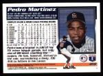 1995 Topps #410  Pedro A. Martinez  Back Thumbnail