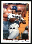 1995 Topps #489  Billy Ashley  Front Thumbnail