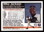 1995 Topps #333  Mike Jackson  Back Thumbnail