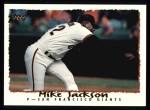 1995 Topps #333  Mike Jackson  Front Thumbnail
