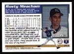 1995 Topps #513  Rusty Meacham  Back Thumbnail