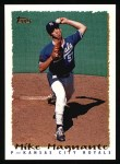1995 Topps #415  Mike Magnante  Front Thumbnail