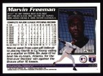 1995 Topps #465  Marvin Freeman  Back Thumbnail