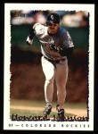 1995 Topps #206  Howard Johnson  Front Thumbnail