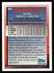 1995 Topps #194  Travis Miller  Back Thumbnail