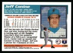 1995 Topps #130  Jeff Conine  Back Thumbnail