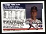 1995 Topps #119  Tony Fossas  Back Thumbnail