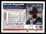 1995 Topps #69  Harold Reynolds  Back Thumbnail