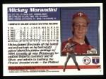 1995 Topps #2  Mickey Morandini  Back Thumbnail
