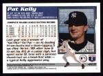 1995 Topps #468  Pat Kelly  Back Thumbnail
