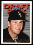 1995 Topps #551  Chris Clemons  Front Thumbnail