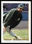 1995 Topps #593  Steve Ontiveros  Front Thumbnail
