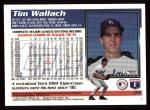 1995 Topps #38  Tim Wallach  Back Thumbnail
