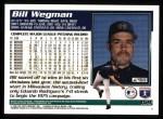 1995 Topps #159  Bill Wegman  Back Thumbnail