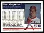1995 Topps #111  Tom Pagnozzi  Back Thumbnail