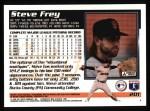 1995 Topps #201  Steve Frey  Back Thumbnail