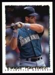 1995 Topps #55  Edgar Martinez  Front Thumbnail