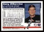 1995 Topps #12  Gary DiSarcina  Back Thumbnail