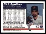1995 Topps #65  Rick Aguilera  Back Thumbnail