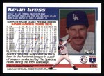 1995 Topps #123  Kevin Gross  Back Thumbnail