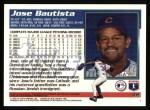 1995 Topps #42  Jose Bautista  Back Thumbnail